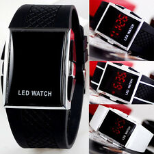MENS LED WATCH RETRO FASHION GIFT IDEA BOYS GADGET Wrist Watches