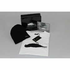 ATTICUS CROW LOGO LIMITED EDITION TIN GIFT SET BEENIE + CD + COOL WHITE T-SHIRT