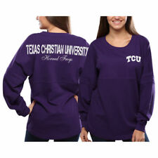 TCU Horned Frogs Women's Pom Pom Jersey Oversized Long Sleeve T-Shirt - NCAA
