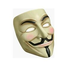 V for Vendetta Guy Fawkes Rubies Costume Mask  DC Comics Movie Characters