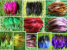 Beautiful 20/50pcs high quality natural rooster tail feather 12-18inch / 5-7inch