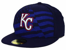 Official MLB 2015 Kansas City Royals July 4th New Era 59FIFTY Fitted Hat