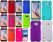 For At&t Samsung Galaxy S6 Active Rubberized HARD Protector Case Phone Cover