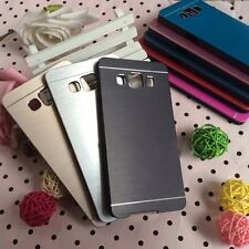 Dust Proof Aluminium Metal Hard Back Case Cover for Samsung Galaxy A3 A5 A7