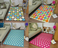 Extra Large Funky Modern Soft Circle Spotted Mat Area Rugs Cheap Carpet Rug Mats