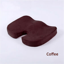 New Memory Foam Seat Cushion Office Chair Car Seat Back Relief Orthopedic Pain
