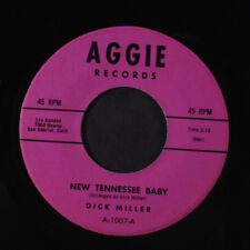 DICK MILLER: New Tennessee Baby / Cold Hearted Stranger 45 rare Rockabilly