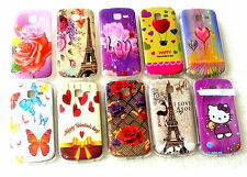for samsung galaxy star pro s7262 s7260 soft back printed case cover uv glossy