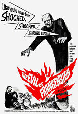 The Evil of Frankenstein - 1964 - Movie Poster