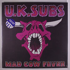 U.K. SUBS: Mad Cow Fever LP Sealed (UK, limited edition purple vinyl reissue, r