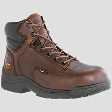 Timberland Men PRO TiTAN Composite Toe Brown Work Safety Boot Size 7-15 50508210