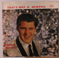 DONNIE BROOKS: Memphis 45 (PS) Oldies