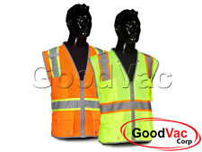 Commander Safety CSVT-201 ANSI Class 2 Premium Reflective Surveyor's Mesh Vest