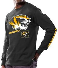 "Missouri Tigers NCAA Majestic ""Points Earned"" Men's Long Sleeve T-Shirt"