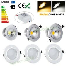 3W 5W 7W 9W 12W CREE Led Ceiling Recessed Downlight Fixture Lamp Bombillas Light