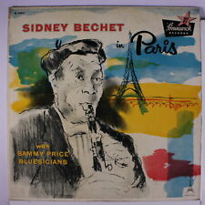 SIDNEY BECHET: In Paris LP (Mono, sm tape on spine, some seam wear, sl cw) Jazz