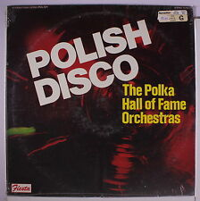 VARIOUS: Polish Disco - The Polka Hall Of Fame Orchestras LP Sealed Easy Listen