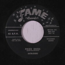 INTRUDERS: Fried Eggs / Jefferie's Rock 45 Oldies