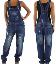 NEU RELAXED Latzhose Latzjeans Overall 34 36 38 40 42 Dungaree Jeans  Salopette