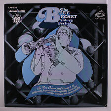 SIDNEY BECHET: Blue Bechet LP (Mono, reissue, small tag residue on cover, sligh