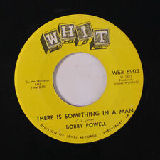 BOBBY POWELL: There Is Something In A Man / Cry To Me 45 Soul