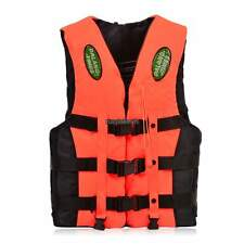 Adult Polyester Swimming Foam Life Jacket Vest Whistle Foam Fully Enclosed RLWH