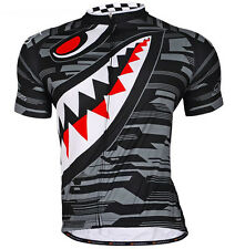 Grey Cycling outdoor sports Jersey Quick Dry Breathable Clothing Bike Size M-XXL