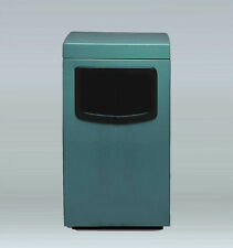 Allied Molded Products Amber Industrial Trash Bin