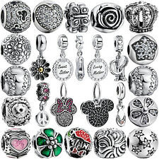 New Hot European Bead Charm For 925 sterling silver Necklace Bracelet Chain