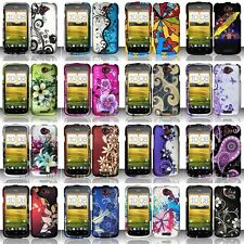 Fashion Design Hard Case Protective Snap-On Plastic Cover Skin For HTC One S