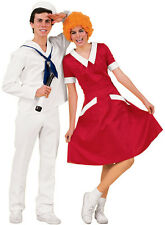 Adult Classic Red Little Annie Orphan Costume