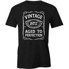 41st Birthday VINTAGE Aged to Perfection T-shirt 41 yo BDAY Gift Idea 1975 Funny