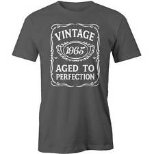 51st  Birthday VINTAGE Aged to Perfection T-shirt 51 yo BDAY Gift Idea 1965 Funn