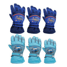 CHILDREN KIDS BOY GIRL Waterproof Winter Ski Snowboard Cycling Sport Warm Gloves