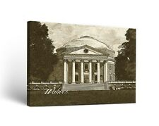 Virginia UVA Cavaliers Canvas Wall Art Sketch Design