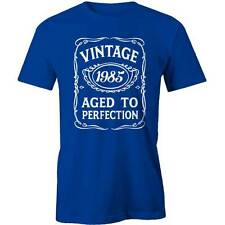31st Birthday VINTAGE Aged to Perfection T-shirt 31 yo BDAY Gift Idea 1985 Funny