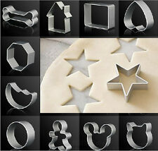 Stainless Baking Sugar Cake Biscuit Cookie Cutter Decoration Mould Mold Tool Hot