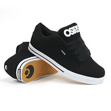 Osiris Protocol (Black/Black/White) Men's Skate Shoes