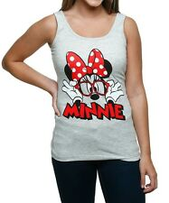 Womens Minnie Mouse Glasses Tank