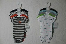 NEW CARTERS BOYS 5 PACK BODYSUITS LITTLE LAYETTE VARIOUS STYLES SIZE NEWBORN