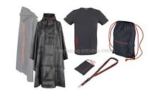Porsche Le Mans 2015 Fan Package Men's T-Shirt Poncho Backpack Lanyard Set
