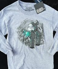 NWT Justice Boys Minecraft shirt miner Gray tee  5 6 7 8 10 12 14 16 Brothers