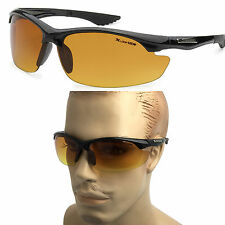 X-Loop Tinted HD Night Vision Sport Men's Fishing Golfing Driving Sunglasses