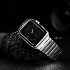 Butterfly Lock Link Bracelet Stainless Steel Strap Watch band For Apple Watch