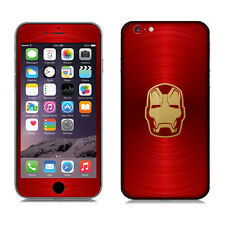 POP SKIN Decal Sticker Avengers Heroes Iron Man For Apple iPhone 6 Plus 6s Plus