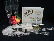 Deer Hunting Hunter Funny  Wedding Theme Glasses Knife Guest Book Lot Halloween