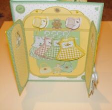 Handmade Greeting Card & Matching Envelope 3D All Occasion With A Girls Armoire