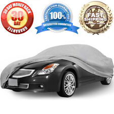 100% Waterproof Car Storage Cover Sedan Universal Outdoor Winter Protection