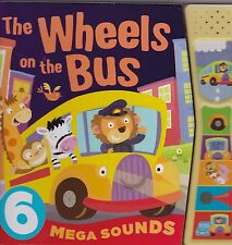 The Wheels on the Bus - Board Book - sound book