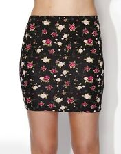 Women's Supre Tessa Floral Mini Skirt, Size: XS Only, RRP $15 BNWT